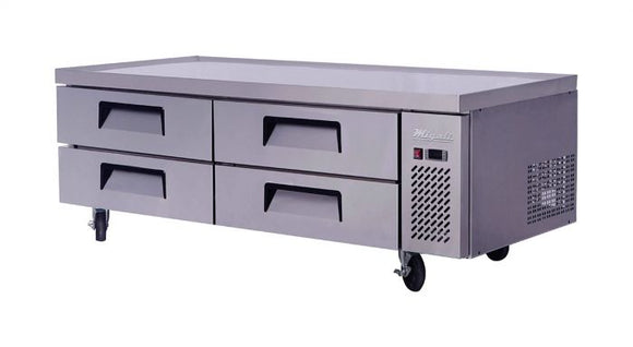 Migali 72″ Wide Refrigerated Chef Base