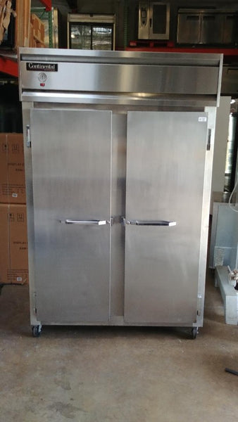 Continental 2 Door Reach In Refrigerator