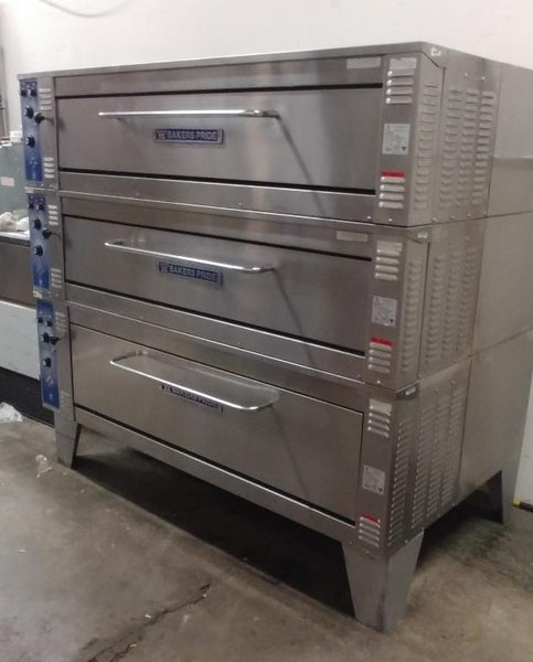 Bakers Pride 3 Tier Deck Oven