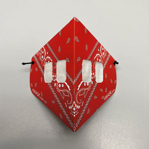 Open image in slideshow, Red Bandana Mask