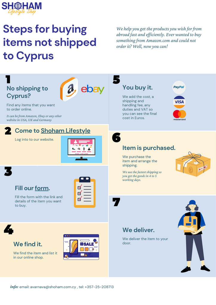 buy from amazon and ship to cyprus