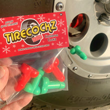 Load image into Gallery viewer, TireCockz Prank Valve Stem Caps Christmas Edition