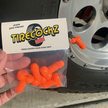 Load image into Gallery viewer, Tirecockz Prank Penis Shaped Valve Stem Cap
