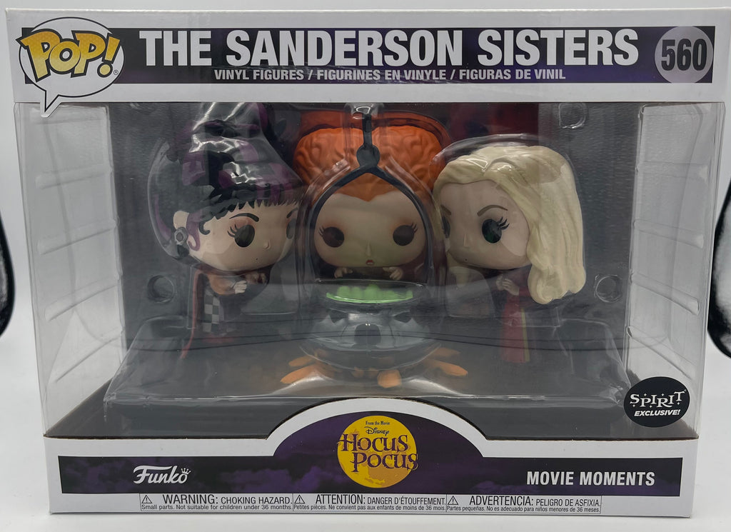 Hocus Pocus The Sanderson Sisters with Cauldron Exclusive Funko Pop! Movie Moment #560 (Listing A)