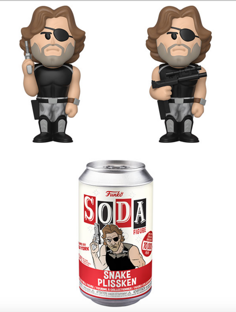 Funko Vinyl Soda Escape From New York Snake Pliskin w/ Possible Chase (Pre Order)