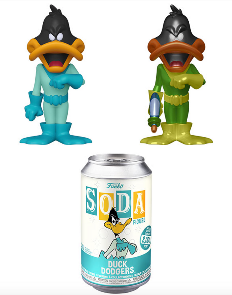 Funko Vinyl Soda Duck Dodgers w/ Possible Chase (Pre Order)