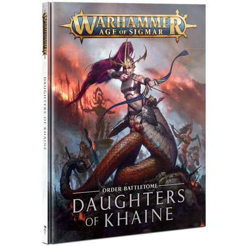 Warhammer Age of Sigmar: Order Battletome - Daughters of Khaine