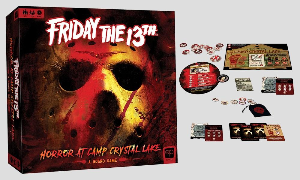 Friday the 13th Horror at Camp Crystal Lake Board Game