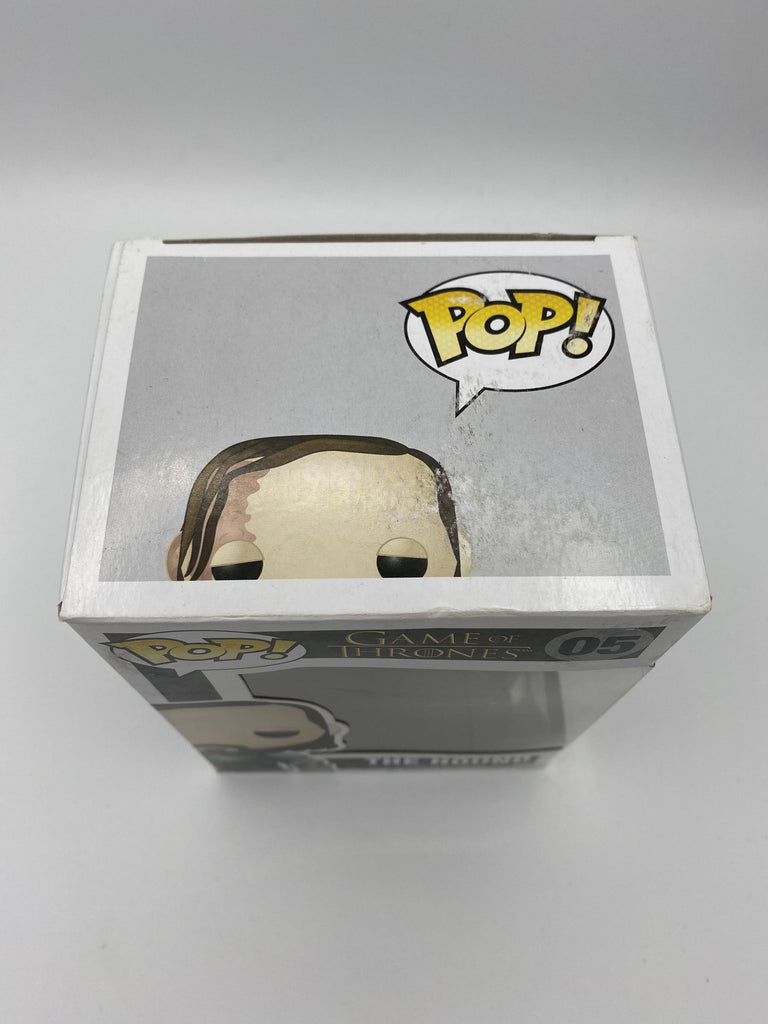 Funko Pop! Game of Thrones The Hound #05 (Box Damage) (Listing C) Funko