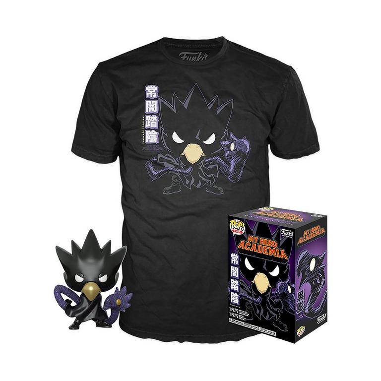 Funko Pop! My Hero Academia Tokoyami Tee Bundle Gamestop Exclusive