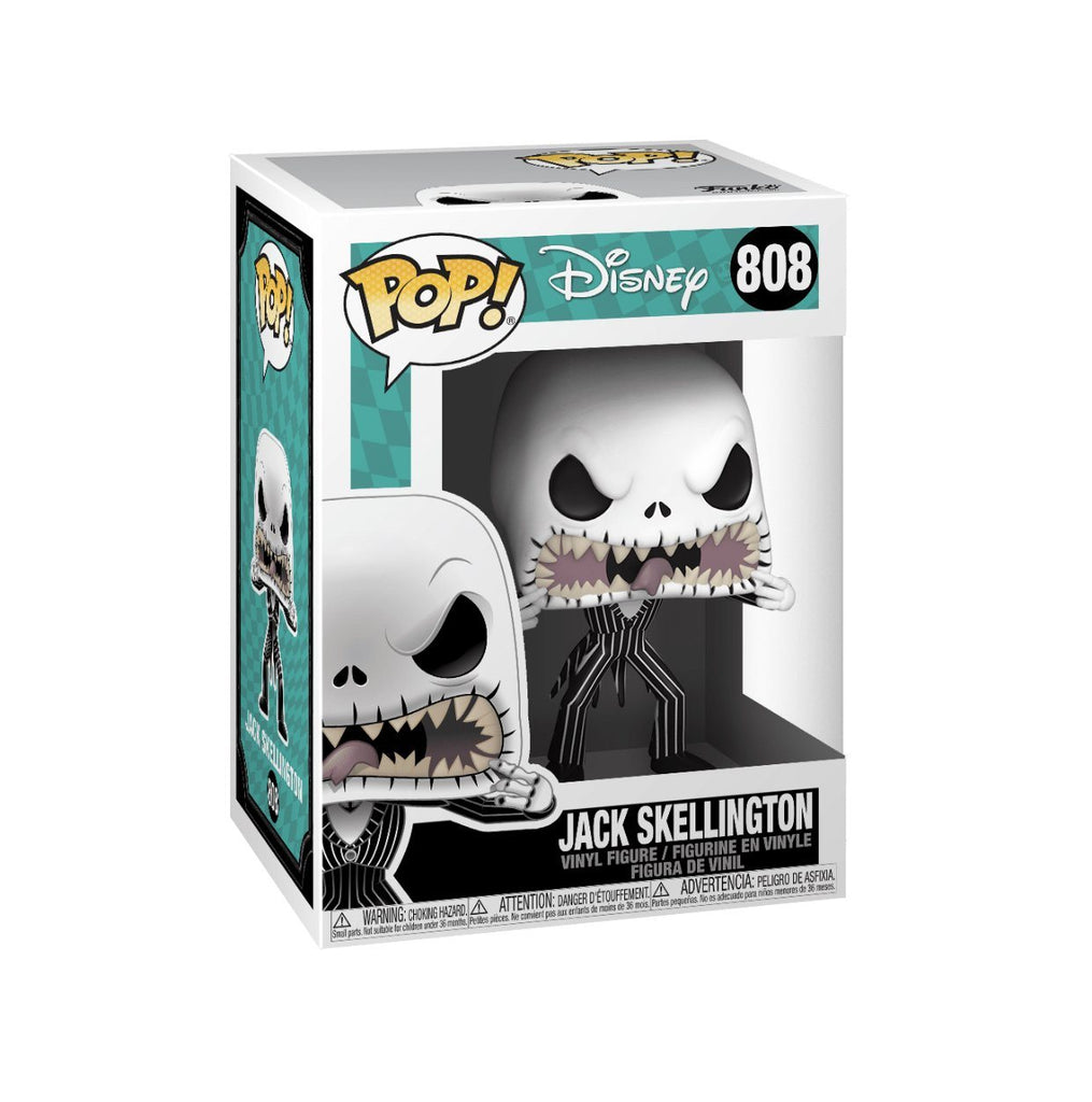 Funko Pop! Nightmare Before Christmas Jack Skellington Scary Face (Pre Order)