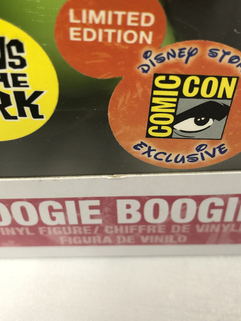 Funko Pop! Nightmare Before Christmas NBC Oogie Boogie Glow (GID) SDCC Exclusive #39 *Damaged Box* Funko