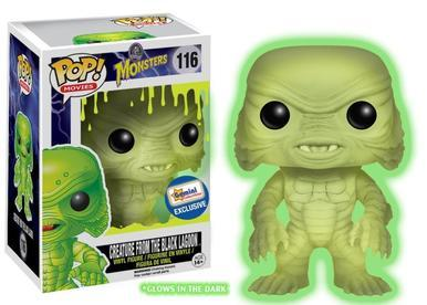 Funko Pop! Universal Monsters Creature from the Black Lagoon Glow in the Dark Gemini Collectibles Exclusive #116