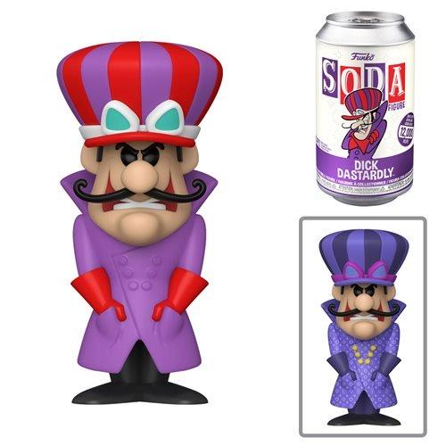 Funko Vinyl Soda Hannah Barbera Dick Dastardly (Wacky Races) with Possible Chase (Pre Order)