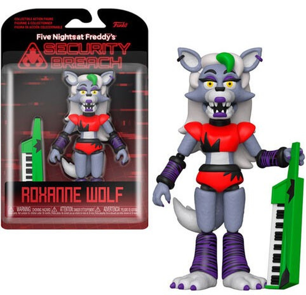 Funko Five Night's at Freddy's Pizza Plex Security Breach Roxanne Wolf Action Figure