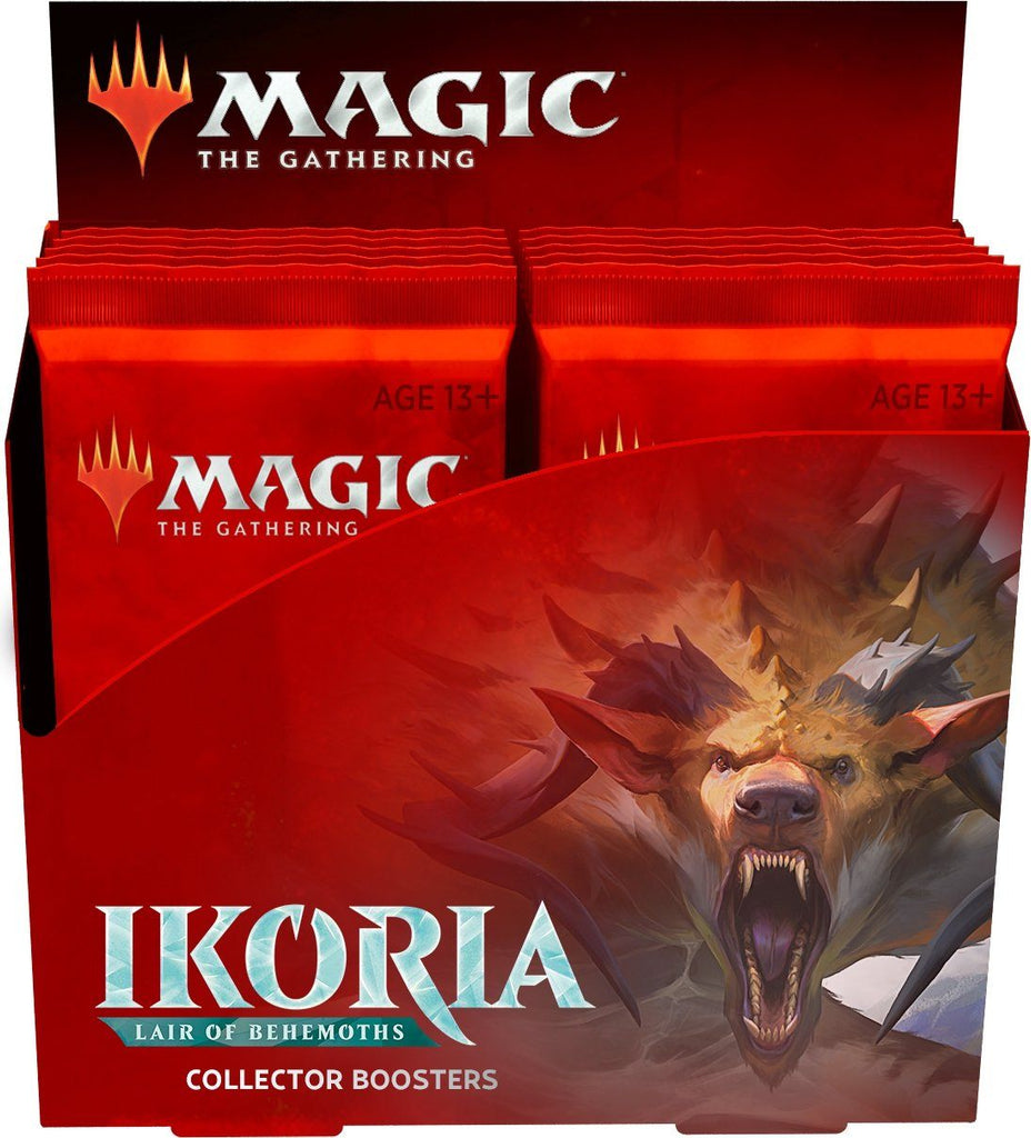 Magic the Gathering: Ikoria Lair of Behemoths Collector Booster Box (12 packs) (English)
