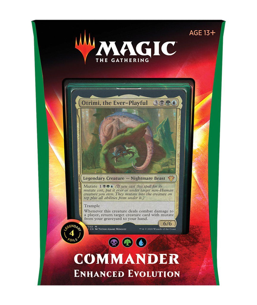 Magic the Gathering: Ikoria Commander 2020 Deck - Enhanced Evolution