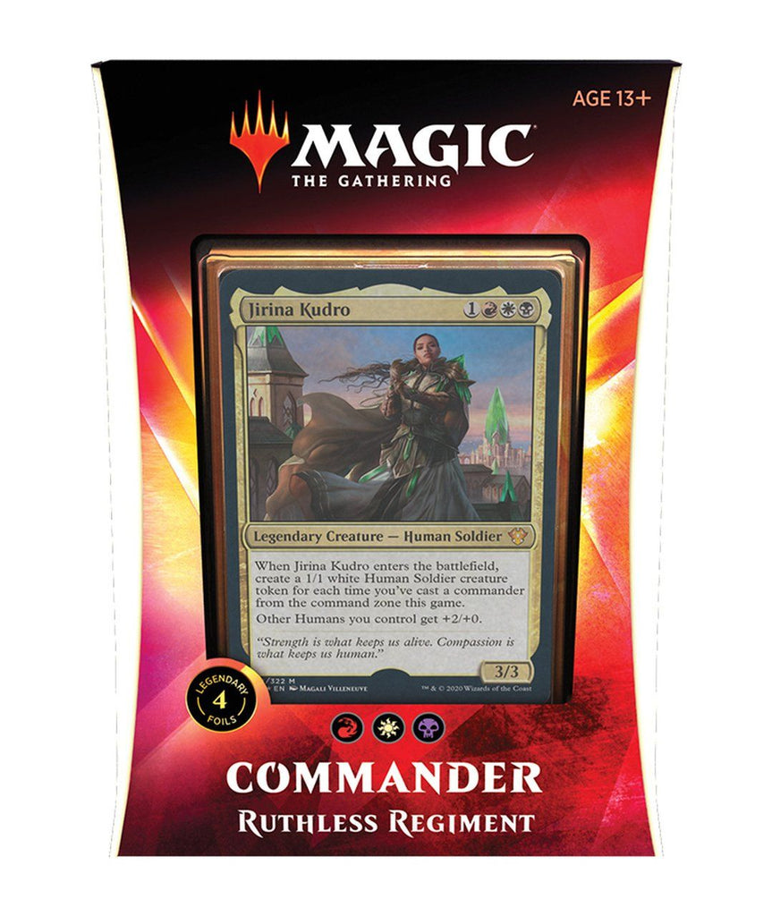 Magic the Gathering: Ikoria Commander 2020 Deck - Ruthless Regiment