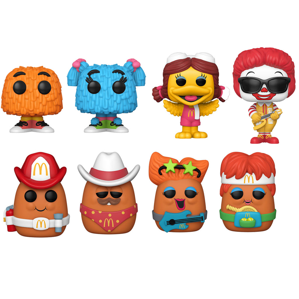 Funko Pop! Ad Icons Mcdonalds Series 2 Full Set Bundle of 7 Pre Order