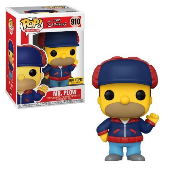 The Simpsons Mr. Plow Exclusive Funko Pop! #910