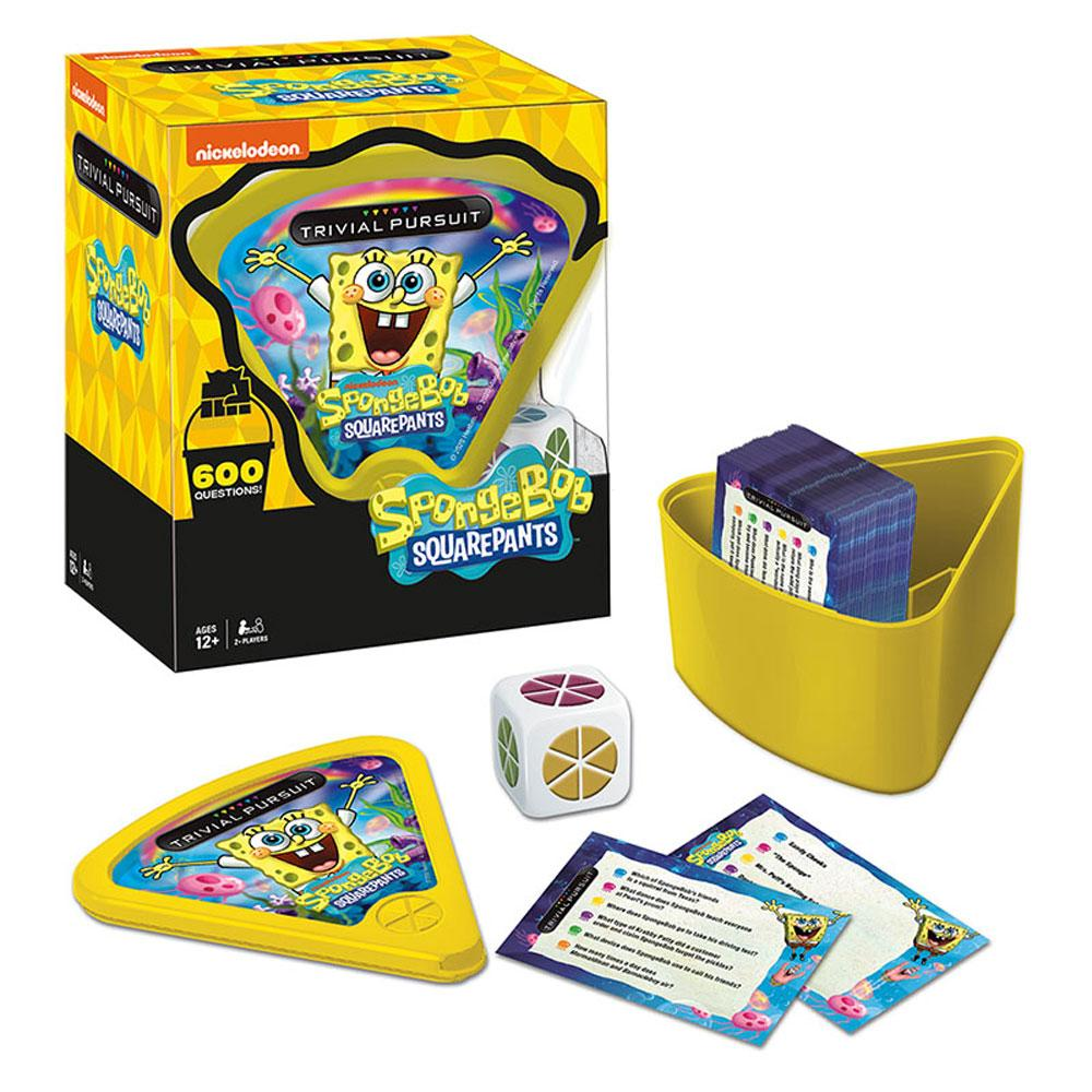 Spongebob Squarepants Trivial Pursuit Board Game USAopoly