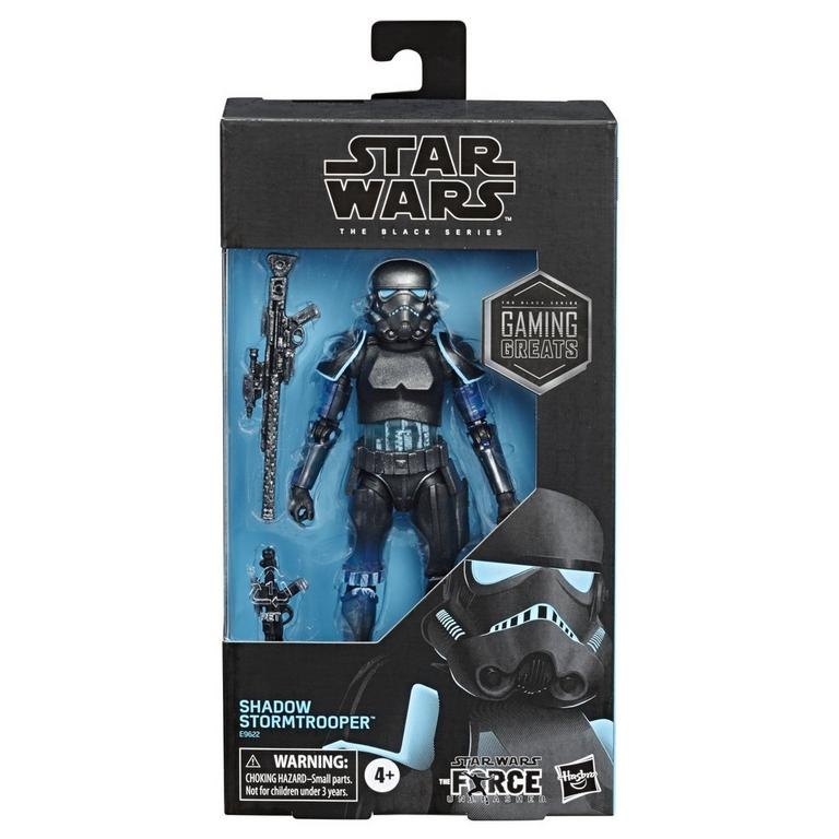 Star Wars The Force Unleashed Shadow Stormtrooper Black Series 6 Inch Exclusive Action Figure