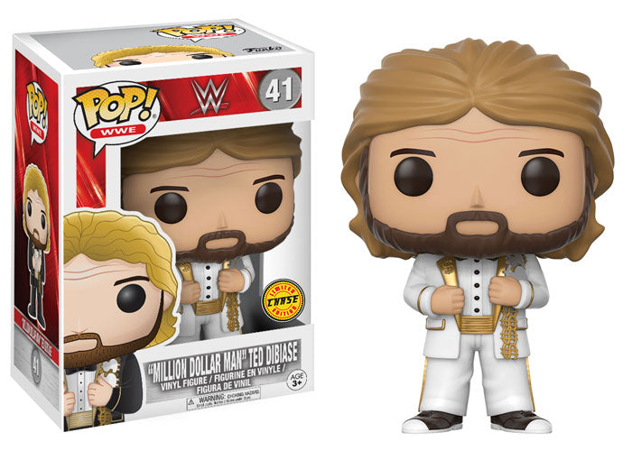 Funko Pop! WWE Million Dollar Man Ted DiBiase (White Tux) Chase #41