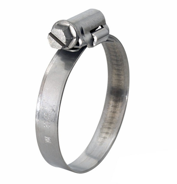 Mikalor ASFA L Worm Drive Hose Clamp - 25-40mm - 304SS - 9mm Wide