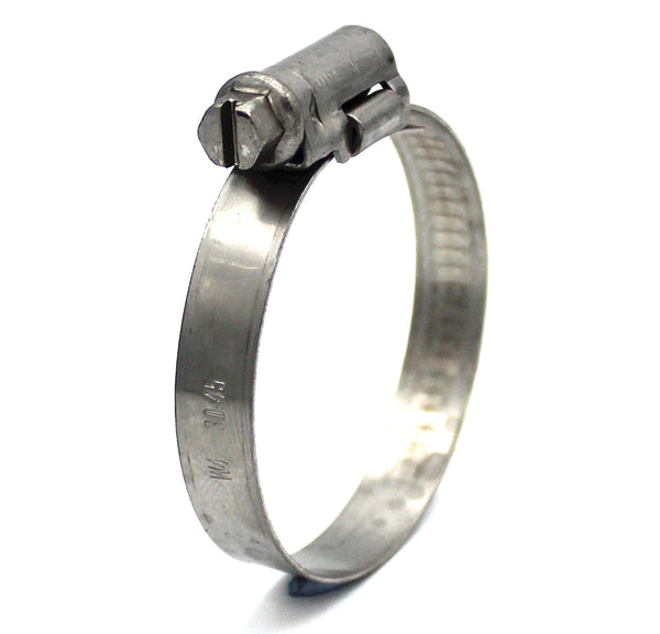 Mikalor ASFA L Worm Drive Hose Clamp - 30-45mm - 430SS - 9mm Wide