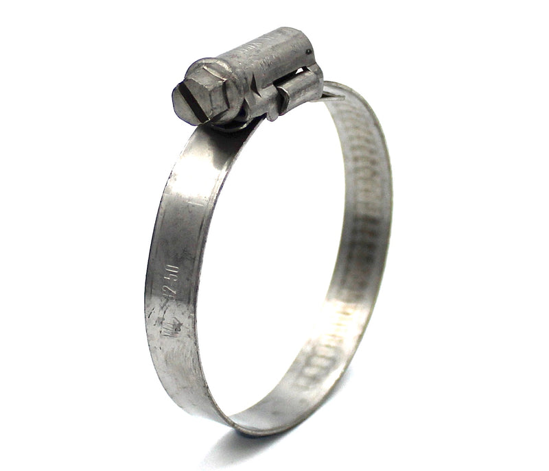 Mikalor ASFA L Worm Drive Hose Clamp - 32-50mm - 430SS - 9mm Wide