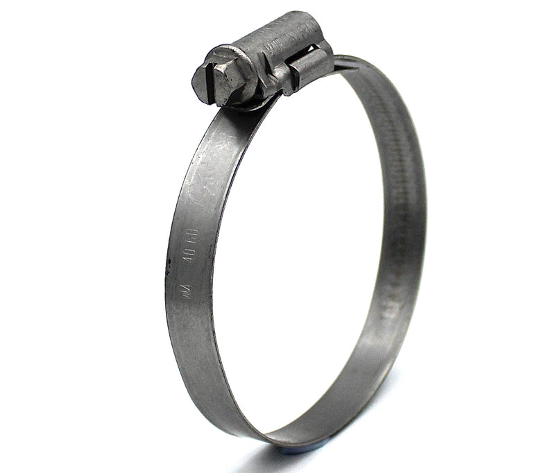 Mikalor ASFA L Worm Drive Hose Clamp - 40-60mm - 430SS - 9mm Wide