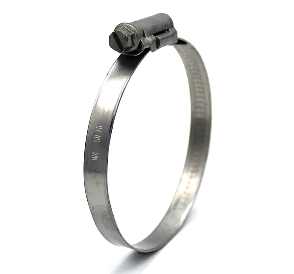 Mikalor ASFA L Worm Drive Hose Clamp - 50-70mm - 430SS - 9mm Wide