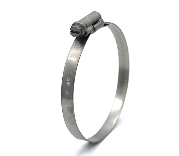 Mikalor ASFA L Worm Drive Hose Clamp - 60-80mm - 430SS - 9mm Wide