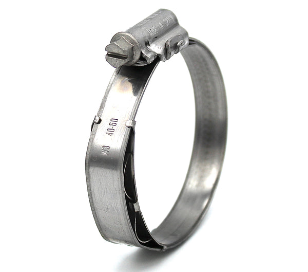 Mikalor ASFA Constant Tension Worm Drive Hose Clamp - 40-60mm
