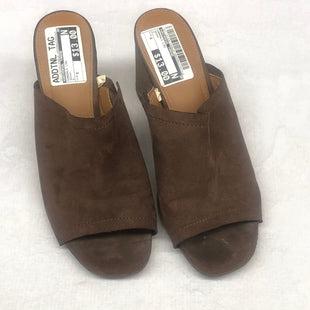 Primary Photo - BRAND: UNIVERSAL THREAD STYLE: SANDALS LOW COLOR: BROWN SIZE: 8 SKU: 191-191229-2396