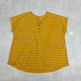 Primary Photo - BRAND: OLD NAVY STYLE: TOP SHORT SLEEVE COLOR: YELLOW SIZE: XL SKU: 191-19145-18058