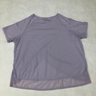 Primary Photo - BRAND: AVIA STYLE: ATHLETIC TOP SHORT SLEEVE COLOR: PURPLE SIZE: L SKU: 191-191196-4369