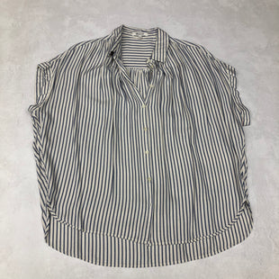 Primary Photo - BRAND: MADEWELL STYLE: TOP SHORT SLEEVE COLOR: STRIPED SIZE: L SKU: 191-191175-16288