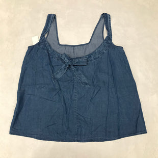 Primary Photo - BRAND: ANN TAYLOR LOFT O STYLE: TOP SLEEVELESS BASIC COLOR: DENIM BLUE SIZE: M SKU: 191-191212-8727