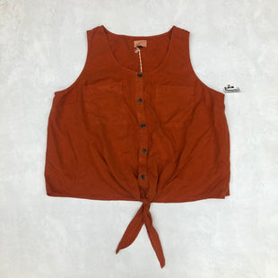 Primary Photo - BRAND: UNIVERSAL THREAD STYLE: TOP SLEEVELESS COLOR: ORANGE SIZE: 3X SKU: 191-191196-6771