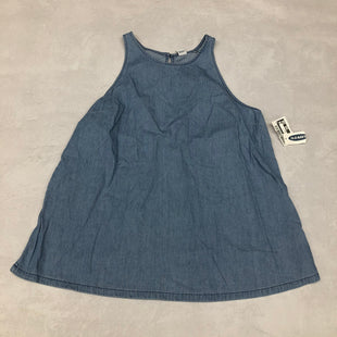 Primary Photo - BRAND: OLD NAVY STYLE: TOP SLEEVELESS COLOR: DENIM SIZE: S SKU: 191-191196-7081