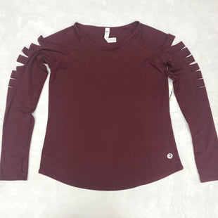 Primary Photo - BRAND:    SCORPIO SOLSTYLE: ATHLETIC TOP COLOR: BURGUNDY SIZE: S SKU: 191-19145-8223
