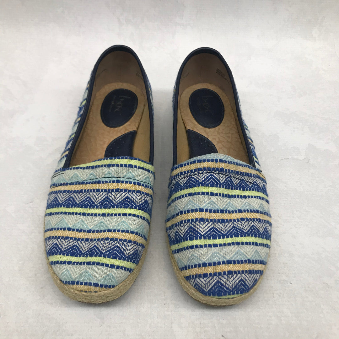 Primary Photo - BRAND: BOC <BR>STYLE: SHOES FLATS <BR>COLOR: BLUE <BR>SIZE: 9 <BR>SKU: 191-19145-22255
