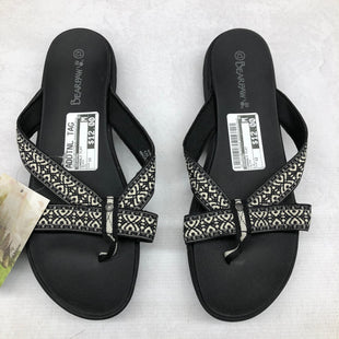Primary Photo - BRAND: BEARPAW STYLE: SANDALS FLAT COLOR: BLACK SIZE: 12 SKU: 191-191196-6793