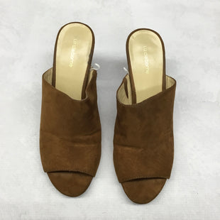 Primary Photo - BRAND: LIZ CLAIBORNE STYLE: SANDALS LOW COLOR: BROWN SIZE: 7.5 SKU: 191-191196-7619