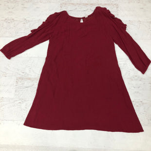 Primary Photo - BRAND: OLD NAVY STYLE: DRESS SHORT SHORT SLEEVE COLOR: MAROON SIZE: M SKU: 191-191218-5788