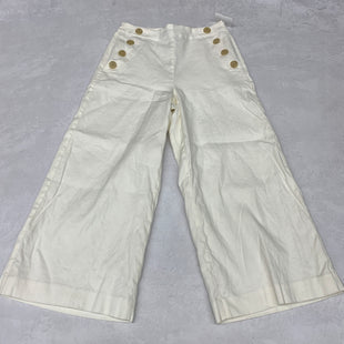 Primary Photo - BRAND: ANN TAYLOR STYLE: PANTS COLOR: WHITE SIZE: 4 SKU: 191-191175-18343
