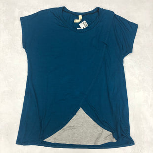 Primary Photo - BRAND:    HELLO MIZSTYLE: TOP SHORT SLEEVE BASIC COLOR: BLUE SIZE: L SKU: 191-19145-15279