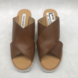 Primary Photo - BRAND: STEVE MADDEN STYLE: SANDALS HIGH COLOR: BROWN SIZE: 9 SKU: 191-19158-32007