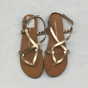 Primary Photo - BRAND: REPORT STYLE: SANDALS FLAT COLOR: BROWN SIZE: 9.5 SKU: 191-191218-1367